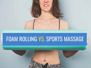 Is your spiky ball or foam roller as effective as a sports massage?