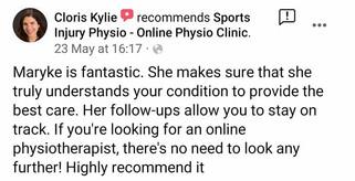 在线理疗评论:克洛丽丝·凯莉