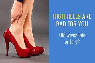 高跟鞋对身体有害吗?是老妇人的传说还是事实?