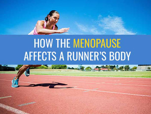 How the Menopause affects a runner's body