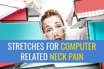 我的5大颈部运动电脑相关的运动损伤