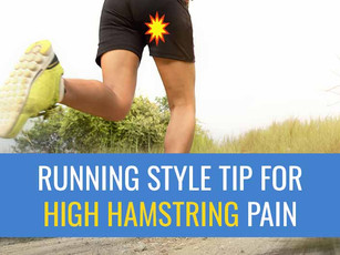 Top running style adjustment that may help your recovery from High Hamstring Tendinopathy