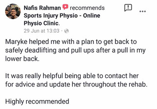 在线理疗评论:Nafis Rahman