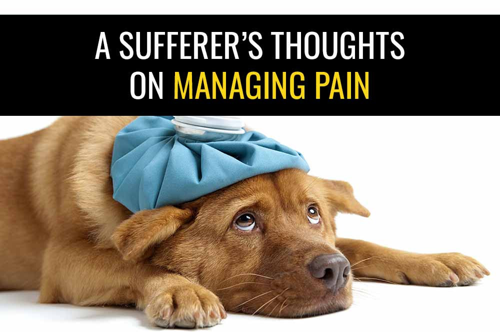 A sufferer's thoughts on managing pain.