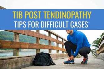 Tib后腱病变对治疗无反应的建议