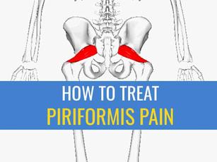 5 Tips for treating Piriformis pain