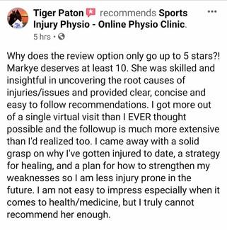 在线理疗评论:Tiger Paton
