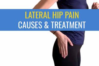 外侧或外侧髋关节疼痛-原因和治疗
