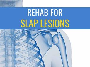 Conservative treatment for SLAP lesions