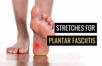 用于治疗足底筋膜炎的顶部拉伸
