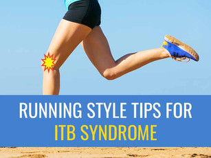 Running style tips for treating ITB Syndrome