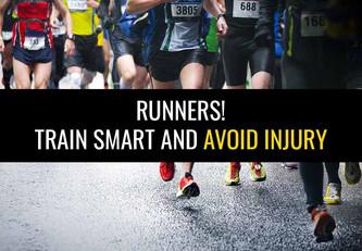 跑步者!聪明地训练,避免受伤!