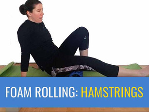 Foam Roller: Hamstrings - Learn how, but also when not to roll your hamstrings