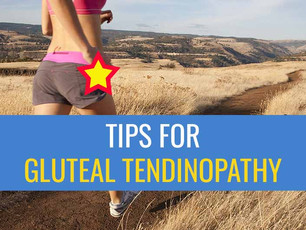 Top tips for runners with Gluteal Tendinopathy