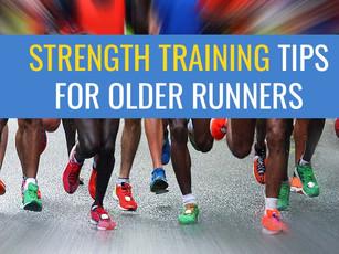 Strength training tips for older runners