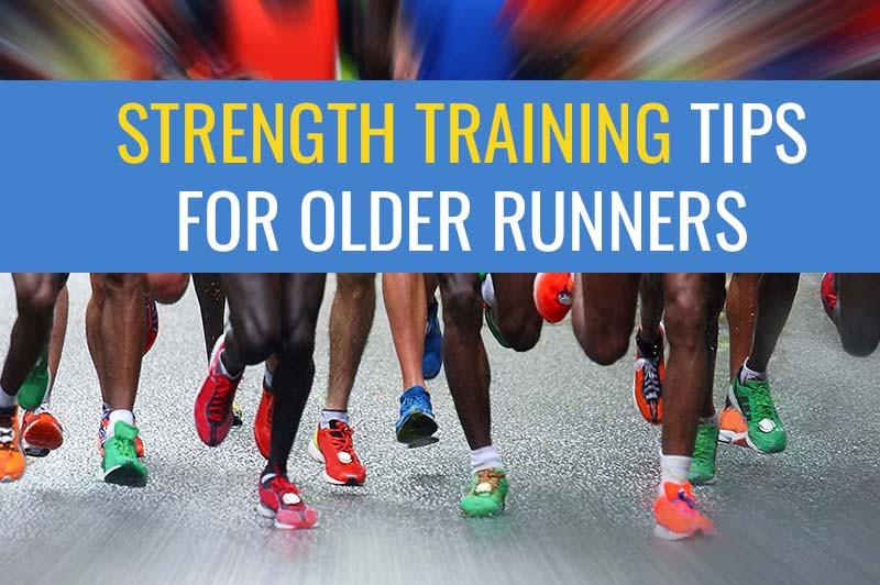 Strength training for older runners