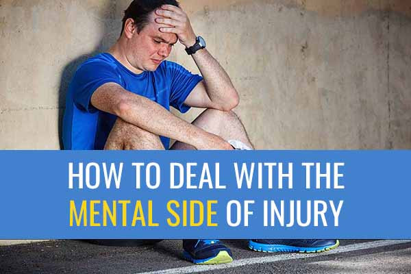 Strategies to help runners cope with the mental side of injury.