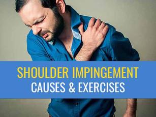 Shoulder impingement – A common cause of shoulder pain