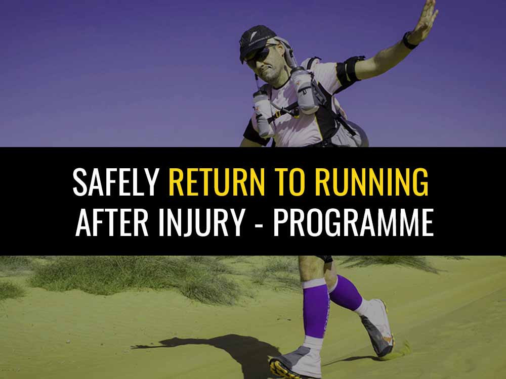 Use this walk'run programme to safely return to running after injury.