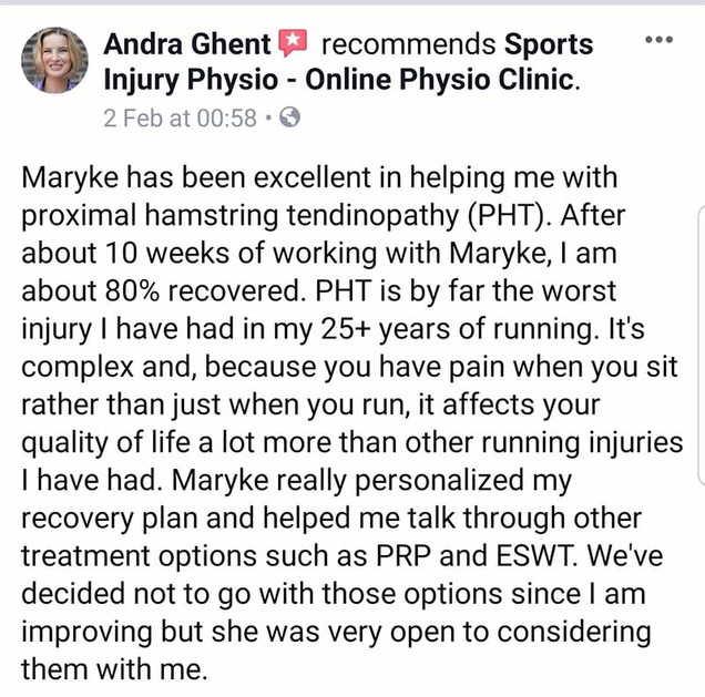 Online Physio Review: Andra Ghent