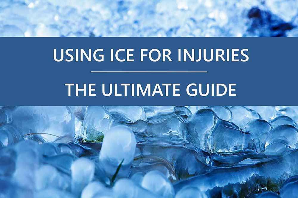 How to use ice for sports injuries.