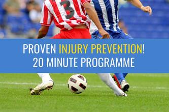 这20分钟的热身计划减少了年轻女性足球运动员的伤害 - 使用它!