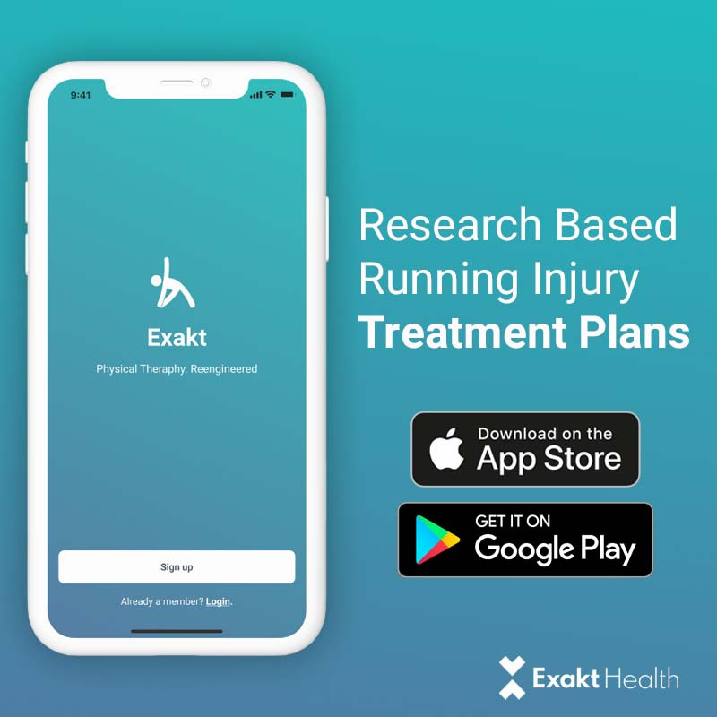 Start your recovery with a tailored treatment plan from the Exakt Health App. Click on the link to download the app.