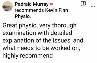 理疗评论:Padraic Murray