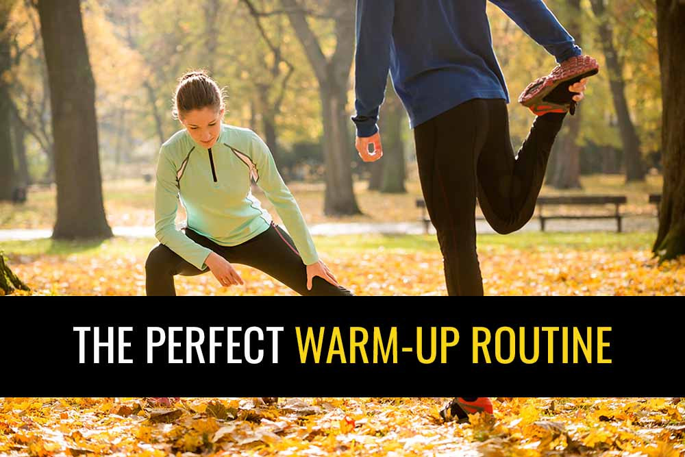 What should the perfect warm-up programme include?