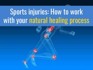 Sports injuries: How to work with your natural healing process for the best recovery