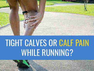 Struggling with tight calves or calf pain when running?