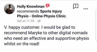 在线理疗评论:Holly