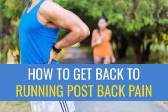 背痛后安全恢复跑步的4个步骤