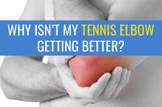 第二部分:为什么我的网球肘疼痛没有好转?