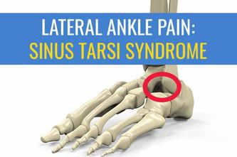 鼻窦蛋白综合征作为侧踝疼痛的原因