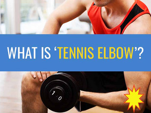 Part 1: What is 'tennis elbow'?