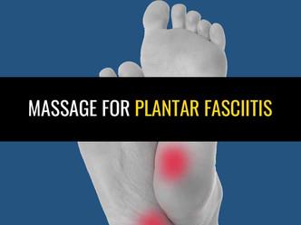 跖筋膜的按摩 - 它实际上是吗?