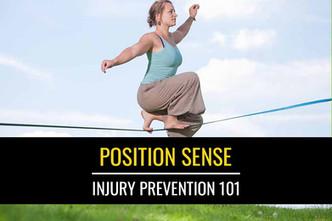 伤害预防101:位置感或本体感觉