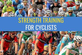 自行车运动员的力量训练