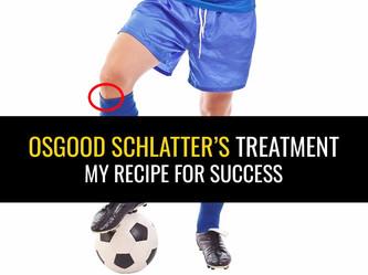 osgood-schlatters治疗 - 我的成功谱