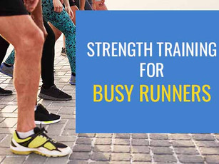 Strength training programme for busy runners