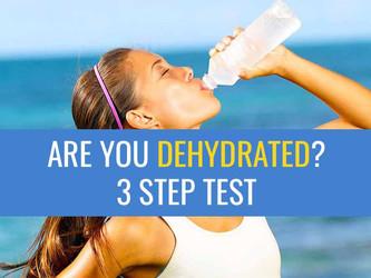 简单的三步测试来知道你是否喝了足够的水