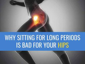 为什么坐着对你的臀部有害