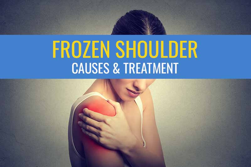 What causes a Frozen Shoulder and how to treat it.
