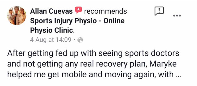 Online Physio Review: Allan Cuevas