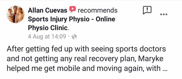 Online Physio Review: Allan Cuevas