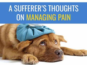 A sufferer's thoughts on managing pain