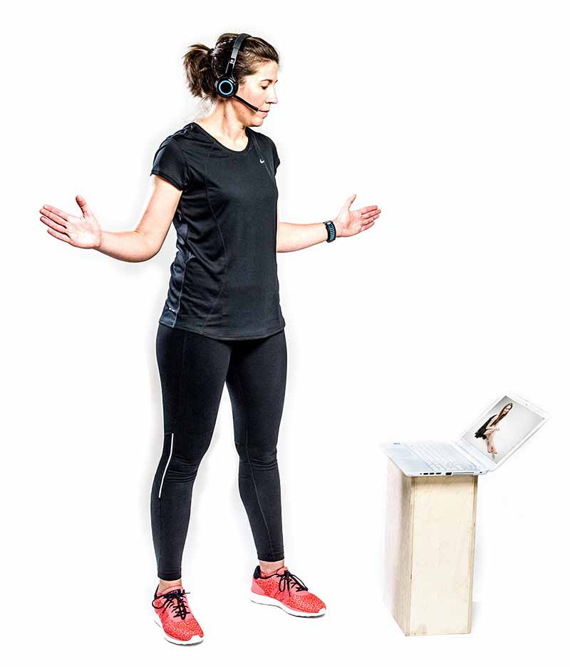 Online Physio Diagnosis: The physio will ask you to perform test movements and observe your movement patterns via video feed.