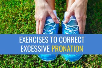纠正脚踝和脚过度内旋的练习