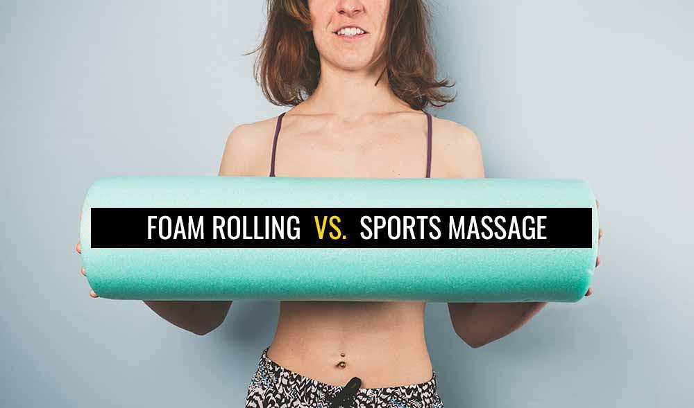 Is foam roller as effective as massage?